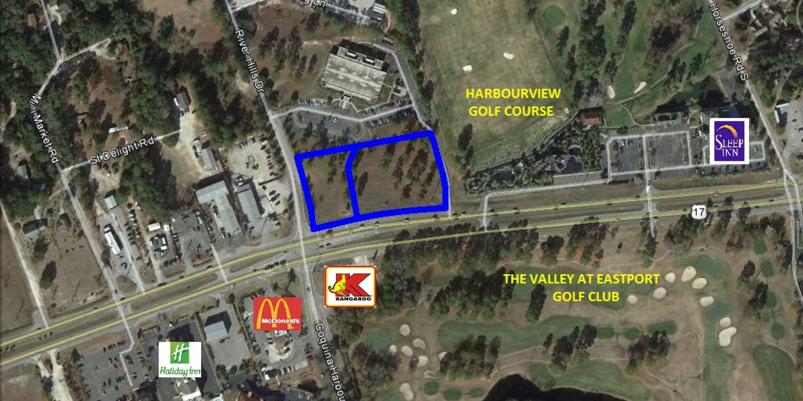 TBD Highway 17,Little River,South Carolina,29566,Retail / Restaurant,Highway 17,1136