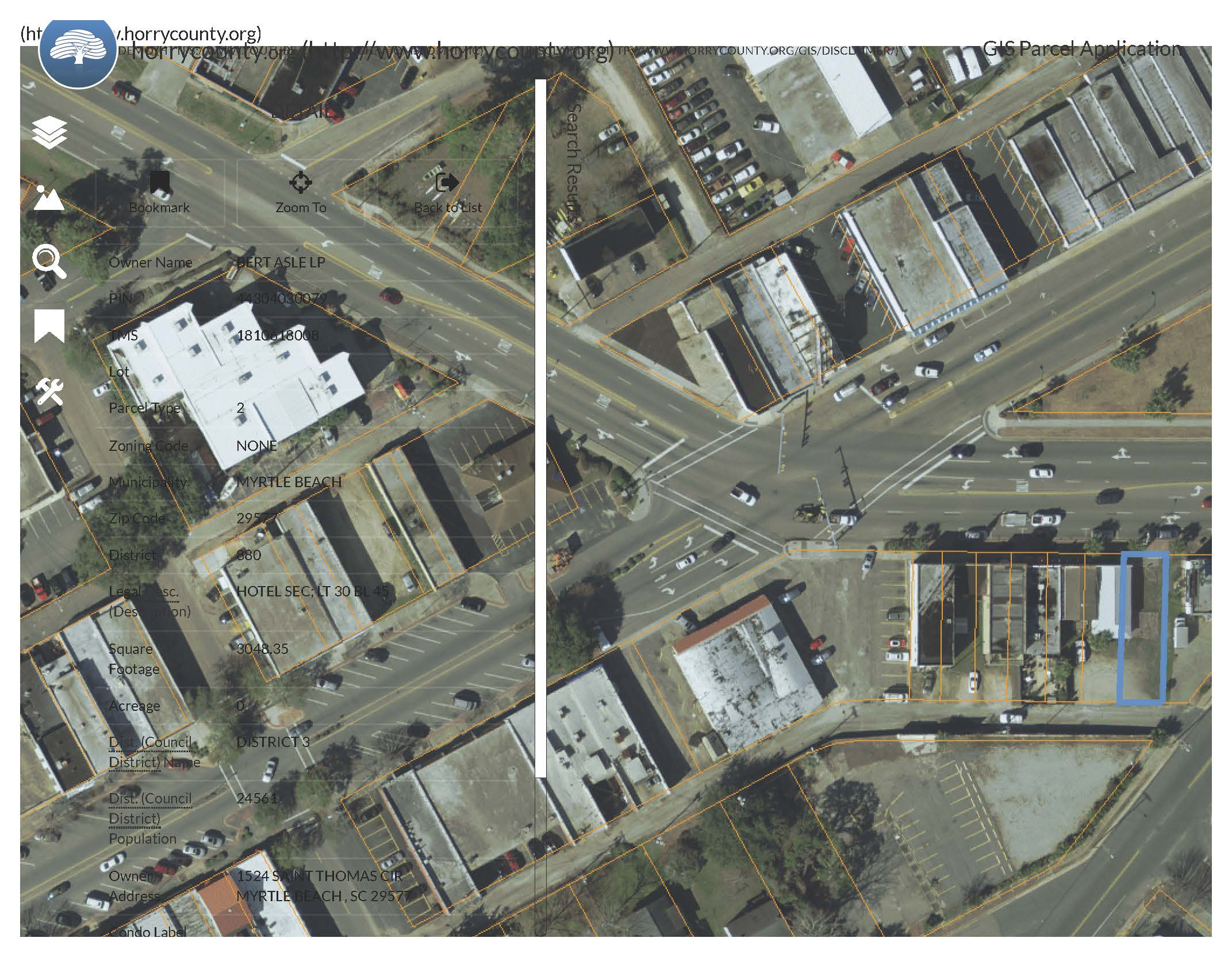 0 Main Street,Myrtle Beach,South Carolina,29577,Retail / Restaurant,Main Street,1213