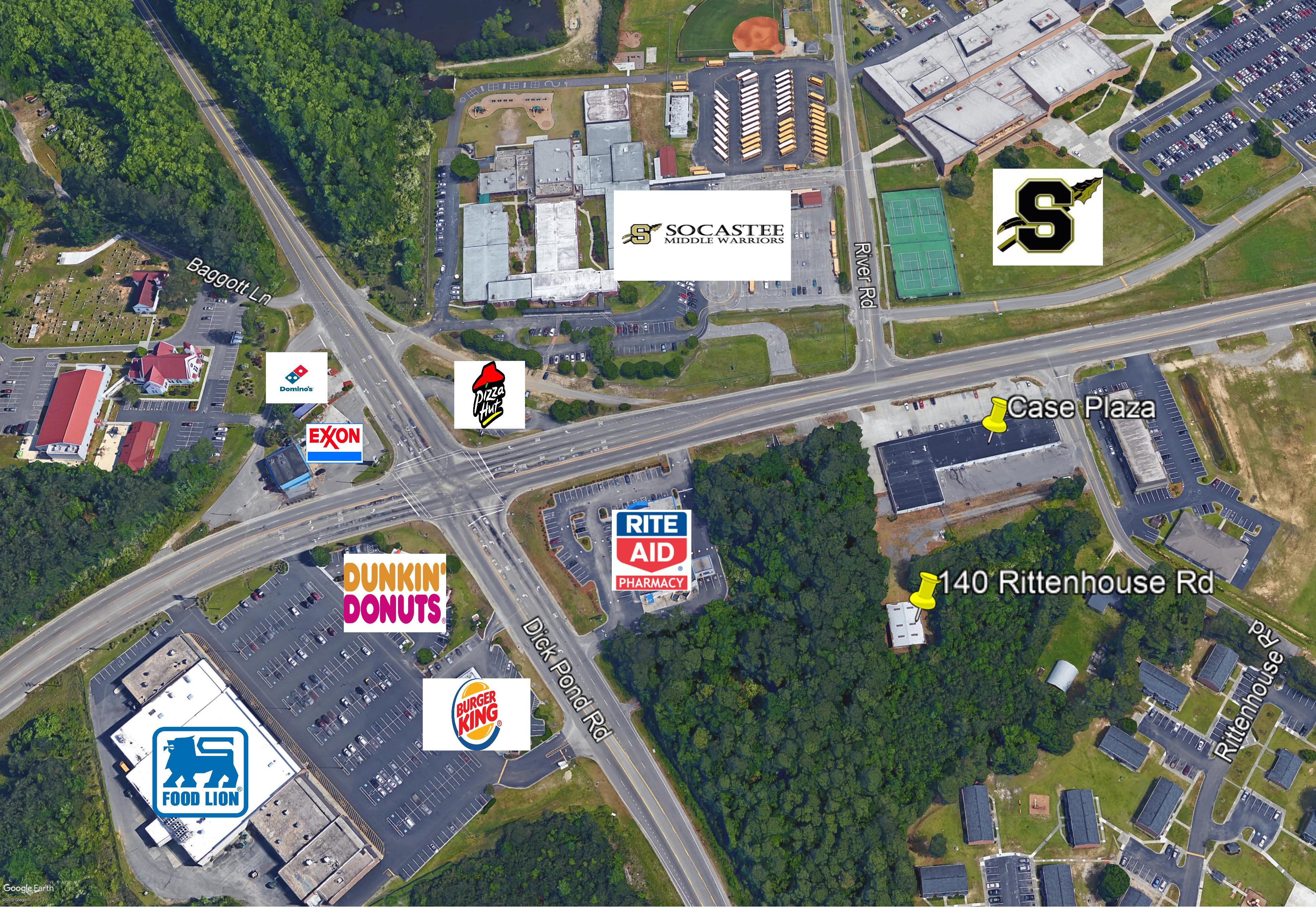 140 Rittenhouse Road,Socastee,South Carolina,29588,Industrial / Flex,Rittenhouse Road,1414