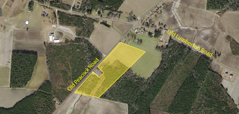 Old Peacock Road,Whiteville,North Carolina,28472,Land Development,Old Peacock Road,1435