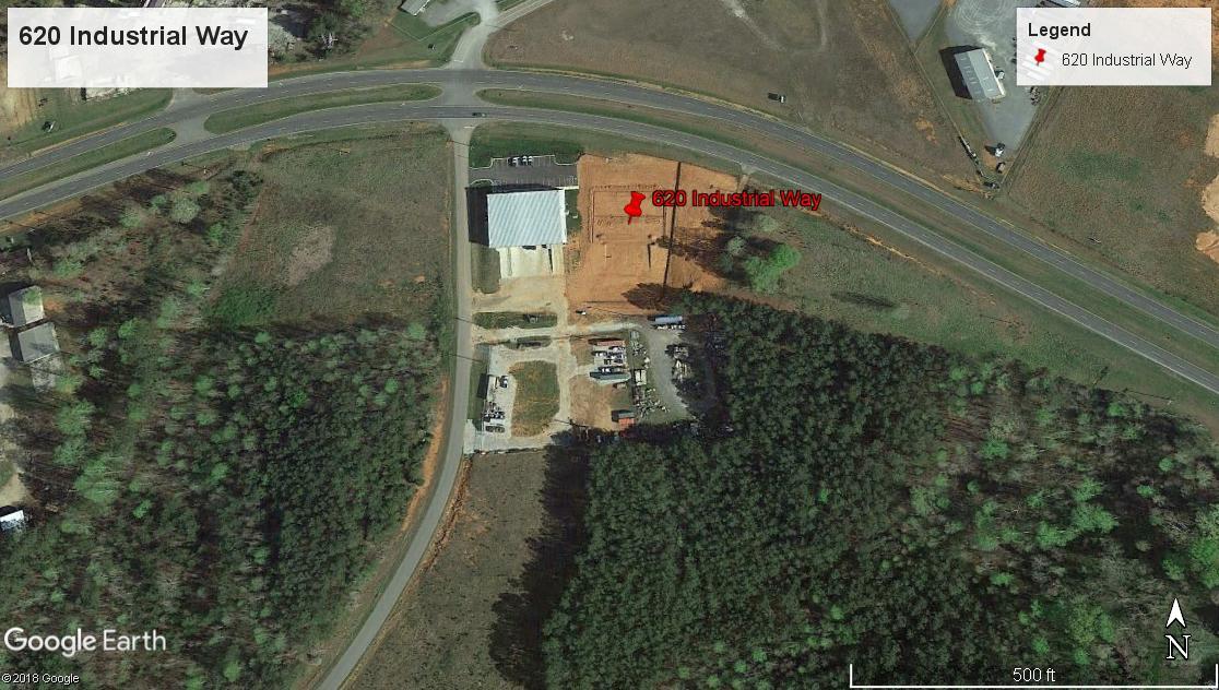 620 Industrial Way,Chester,South Carolina,29706,Industrial / Flex,Industrial Way,1,1457